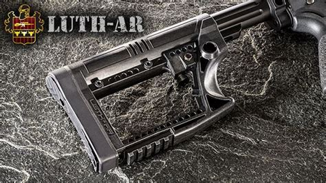 Mba Big 4 by Luth Ar Skullaton Collapsible Carbine Stock Mba 4 Wing