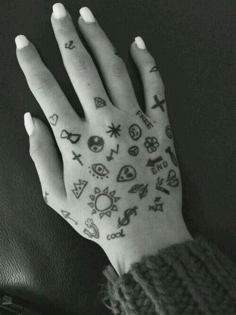 pen tattoo on hand tumblr grunge image 2440860 by lauralai on favim com