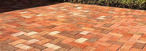 Shale Patio by General Shale Clay Pavers Tremron Jacksonville Pavers