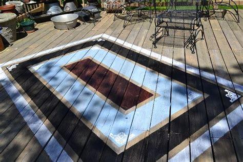 painted decks ideas  pinterest   paint