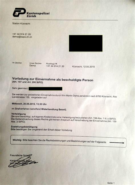 Schweiz Brief Zoll Samenverfolgung Thc Wiki