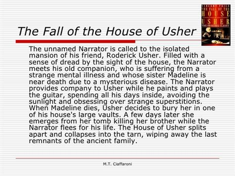 the fall of the house of usher sparknotes edgar allan poe1