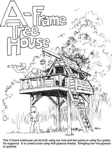 free tree house plans 9 completely free tree house plans