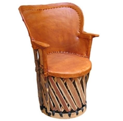 Mexican Leather Chairs by Mexican Equipale Pigskin Leather Furniture