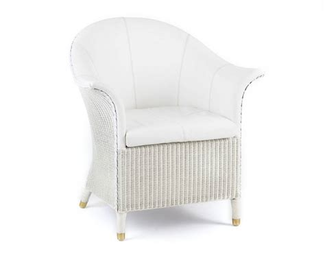 white wicker bedroom chair leeco lloyd loom leather paddington chair sofa and home