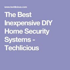 1000 ideas about home security systems on