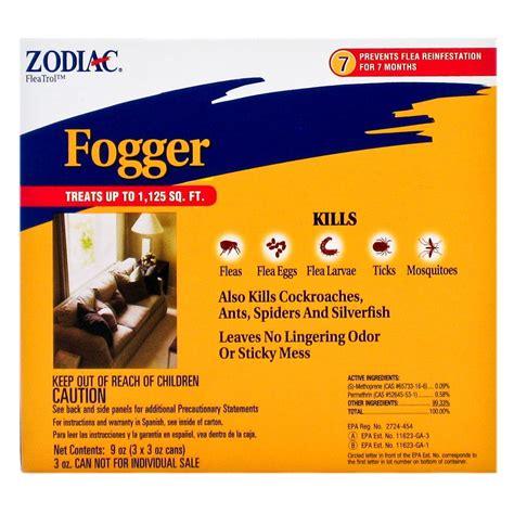flea bombs for house zodiac zodiac flea tick fogger indoor outdoor flea