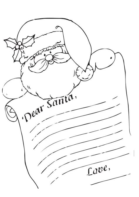 turkey claus coloring page 17 best ideas about letter from santa template on