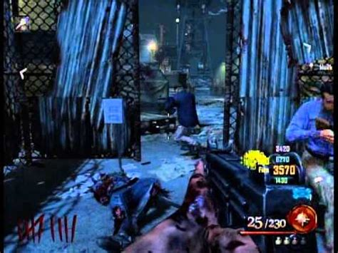 How To Find In Prison Call Of Duty Black Ops 2 Zombies Alcatraz Prison Mob Of The Dead How To Find Build