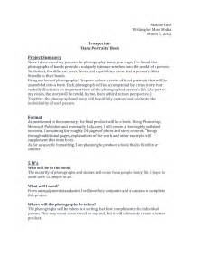 Writing A Prospectus For A Research Paper Compositions Final Project Prospectus