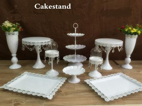 2017 snow white crystal wedding cake stand wedding table