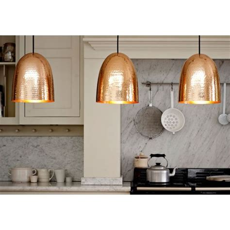 kitchen island lighting uk original btc stanley copper pendant light copper