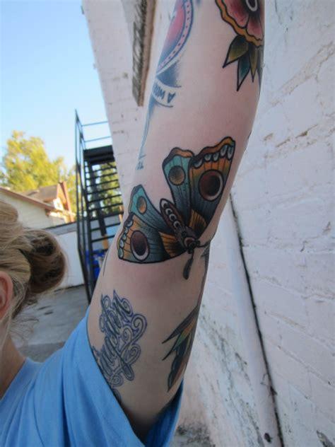 pacific northwest tattoo tricky inner moth