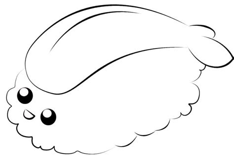 kawaii sushi coloring pages sushi colouring pages page 2