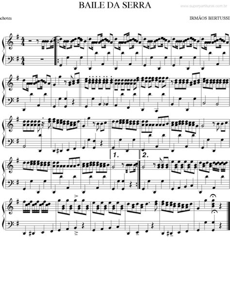 Super Partituras - Partituras de músicas do gênero Forró
