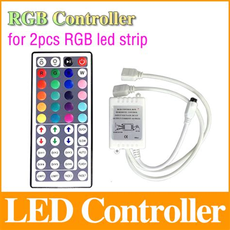 Paket Adaptor Led 5050 Rgb Remote Driver Rgb Besar 44 rgb wireless remote dc 12v 1 controler for 2pcs 5050 3528 3014 rgb led smd light