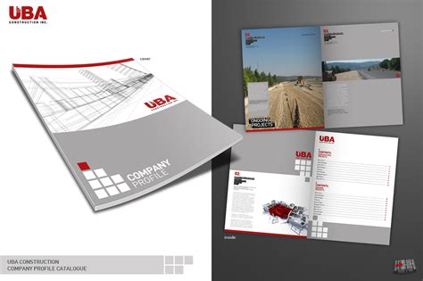 company profile design unik uba company profile catalogue by alpipi on deviantart