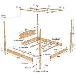 Canopy Bed Plans Free Pdf Diy Wood Canopy Bed Plans Wood Carving Tools