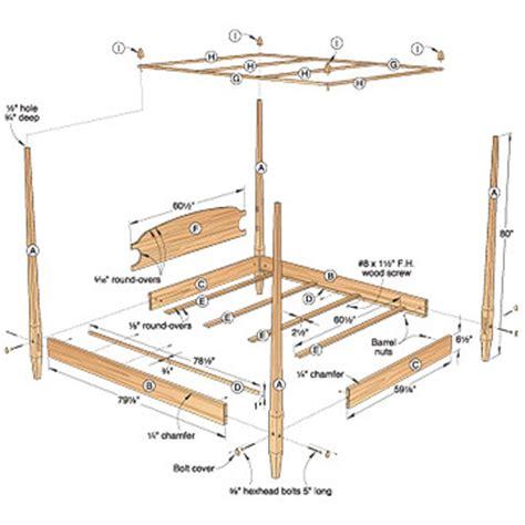 bed post woodwork bed post plans pdf plans
