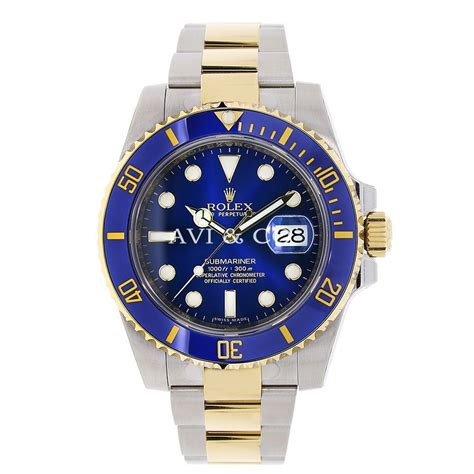 Steel Blue List Silver rolex submariner stainless steel and yellow gold