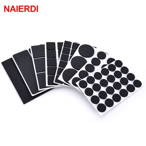 how to put on a rug with leg straps naierdi 1 24pcs self adhesive adhesive furniture leg non slip rug っ felt felt pads