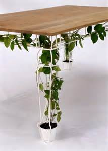 pot plant table great idea