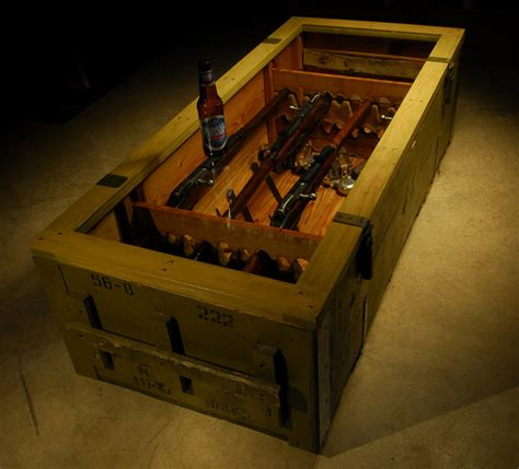 gun table the mosin nagant coffee table armory