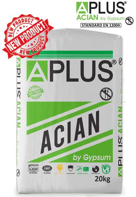 tepung gypsum a plus a 20kg new aplus product aplus pasific