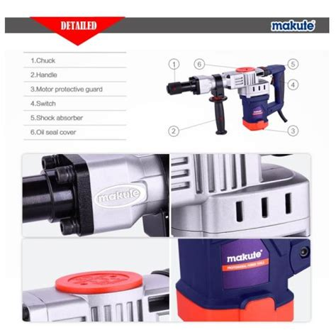 Mesin Demolition Hammer Makute Dh35 china makute hammer drill electric tool dh35 china