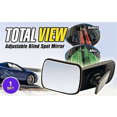 Total View Car Blind Spot Mirror Kaca Cermin Spion Mobi Murah total view car blind spot mirror kaca spion mobil black jakartanotebook