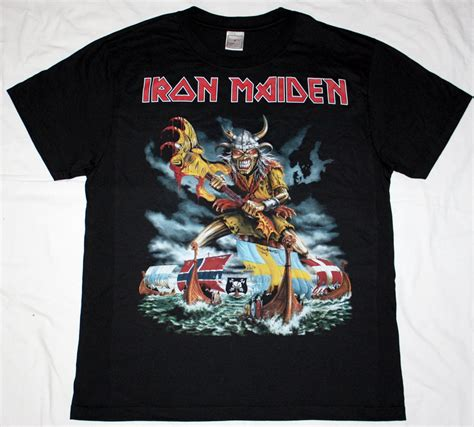 T Shirt Metal Iron Maiden iron maiden scandinavian assault heavy metal judas priest