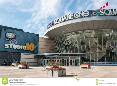 layout of square one mall square one shopping centre entrance editorial stock photo