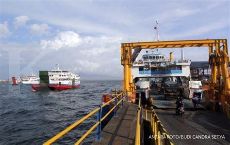 ferry dari banyuwangi ke bali asdp banyuwangi siap angkut penumpang dari bali