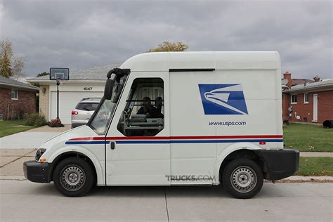 vehicles mail the trucks competing to be the next usps delivery vehicle