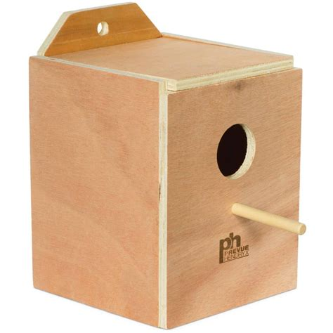 lovebird nest box 1102 prevue pet products