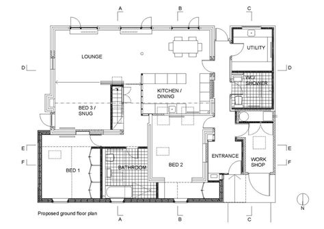 autocad architecture floor plan free home plans autocad bar floor plans