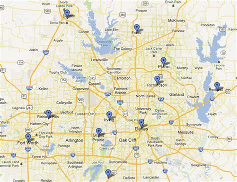 map of dfw departments across dallas fort worth adopt nextdoor nextdoor