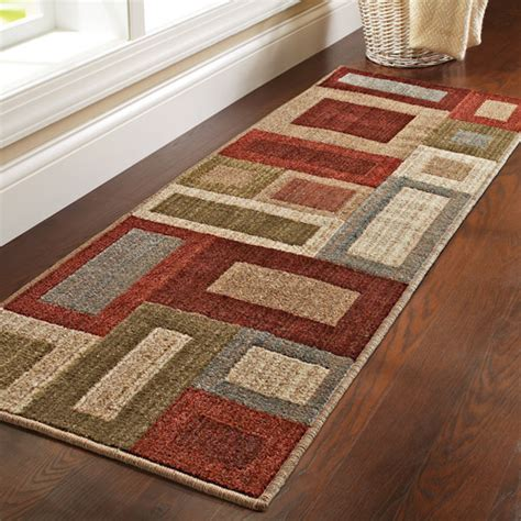 better homes and gardens rugs at walmart better homes and gardens franklin squares olefin runner rug walmart