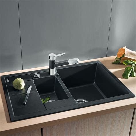 Bathroom Sink Material Comparison Blanco Metra 6 S Compact Sink W 78 D 50 Cm Bowl