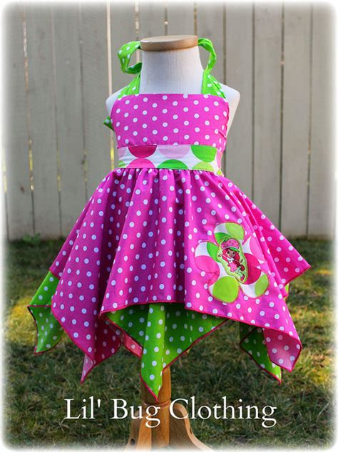 Handmade Clothing Boutiques - custom boutique clothing strawberry shortcake sorbet disco dot