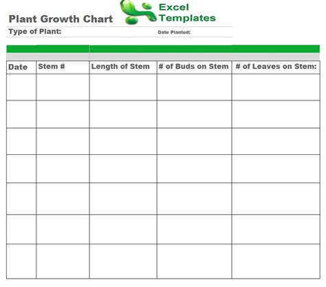 printable children s growth chart free coloring pages of plant growth chart