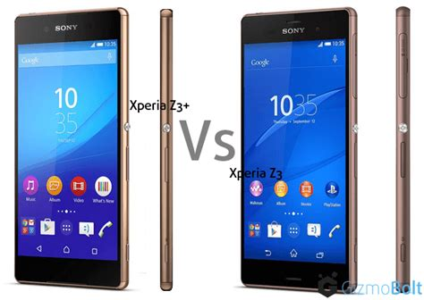 Hp Sony Z3 V sony xperia z3 vs xperia z3 design comparison