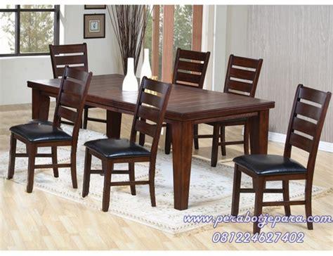 Meja Makan Jati Meja Makan Mebel Jepara kursi meja makan set minimalis jati murah modern perabot jepara perabot jati toko