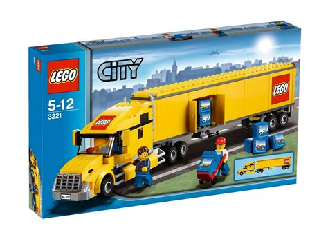 lego truck onetwobrick lego set database 3221 lego 174 city truck