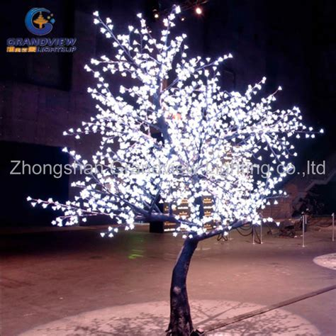 Blossom Center Lights Led Outdoor Waterproof Led Cherry Blossom Musical