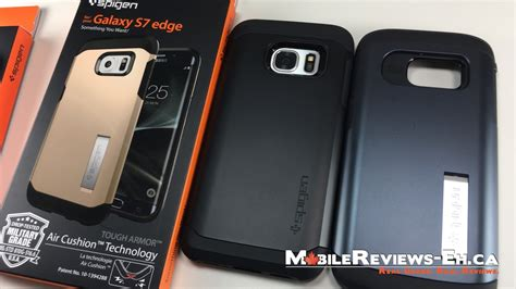 Spigen S7 Edge spigen tough armor review galaxy s7 and edge cases mobile reviews eh