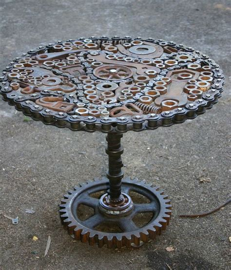 Recycling Ideas For Home Decor by Upcycled Amp Recycled Metal Creations Crafts Ideas