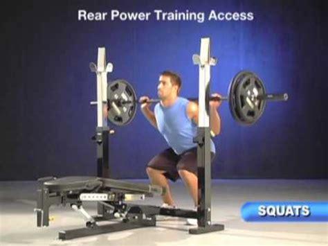 powertec workbench olympic bench powertec olympic bench video mpg youtube