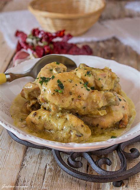 pollo al curry con panna da cucina pollo al curry