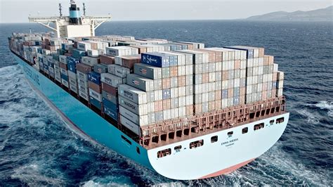 largest ship in the world top 10 biggest container ships in the world 2017